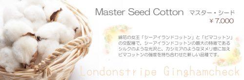 Master Seed Cotton マスター・シード